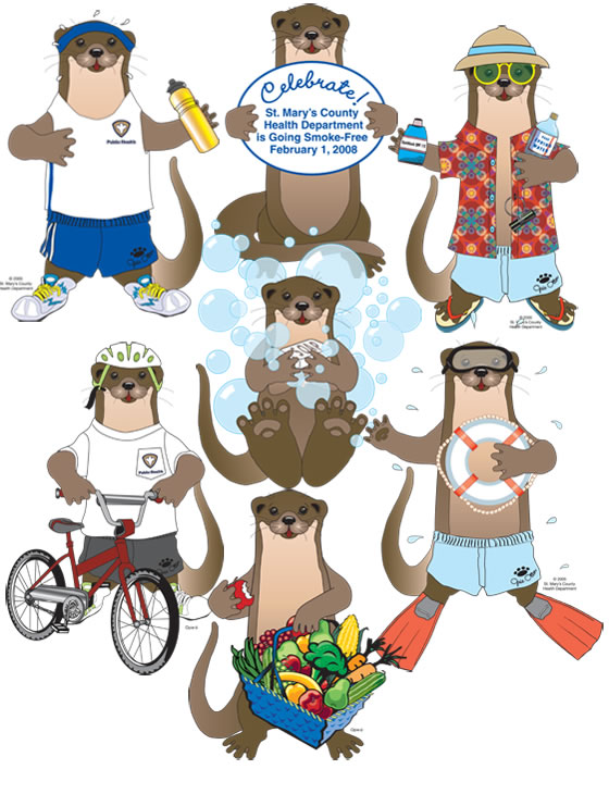 Opie the Otter Illustrations by Carole Thieme
